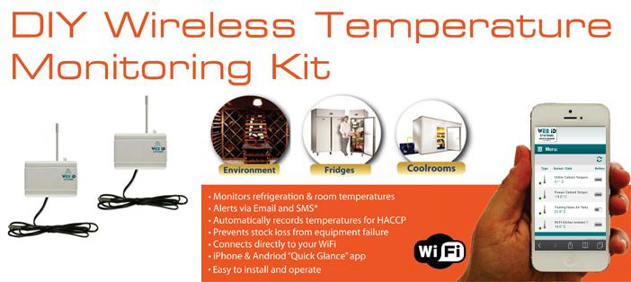 DYI WiFi temperature monitoring kit